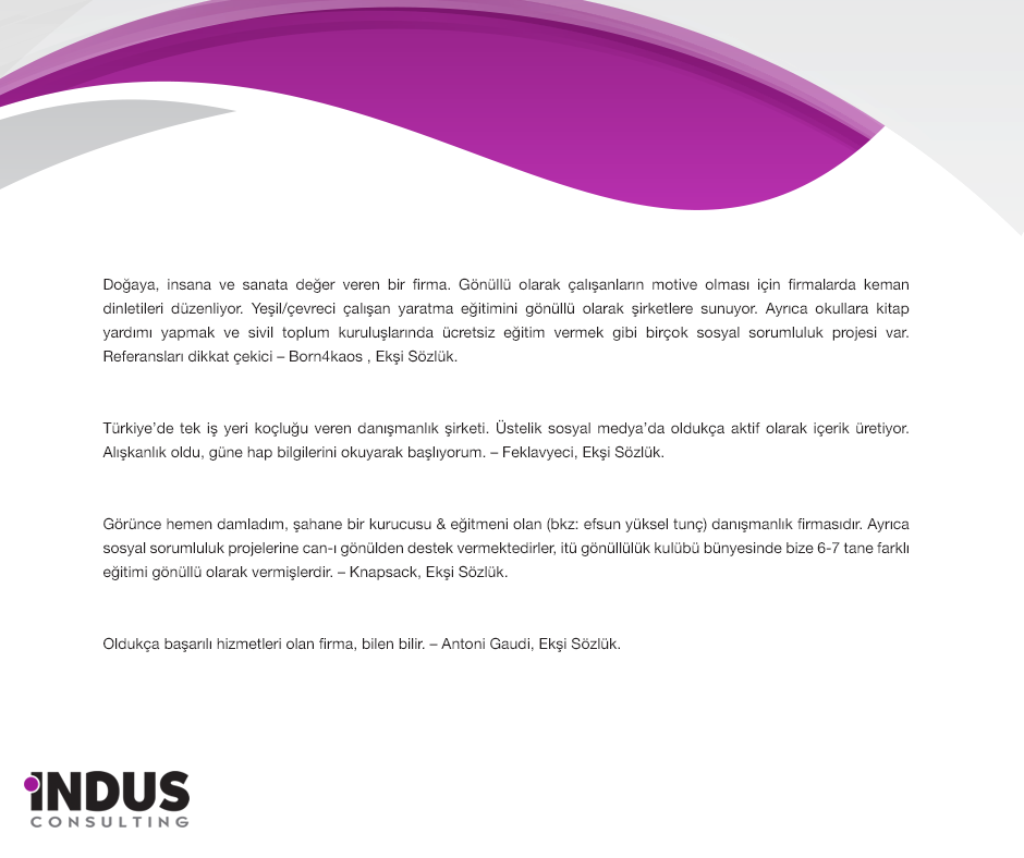 indus- Ekşi yorumları